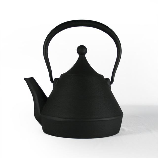 南部鉄器 南部小鉄瓶 急須 / 兼用瓶 / 茶こし付きケトル IH対応 / 直火対応 『トルコ』 1.0L やかん