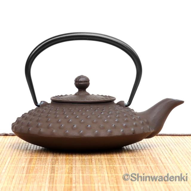 南部鉄器 燗瓶平アラレ(小)