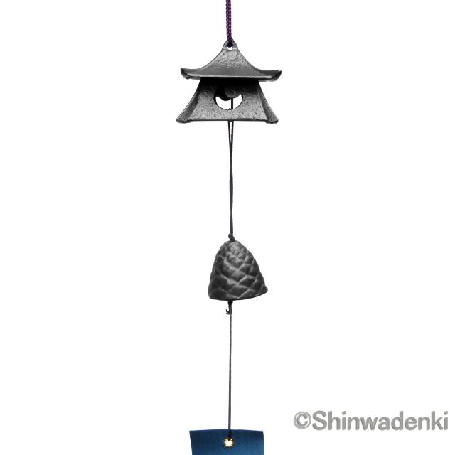 南部鉄器 風鈴 吊灯籠(特小)