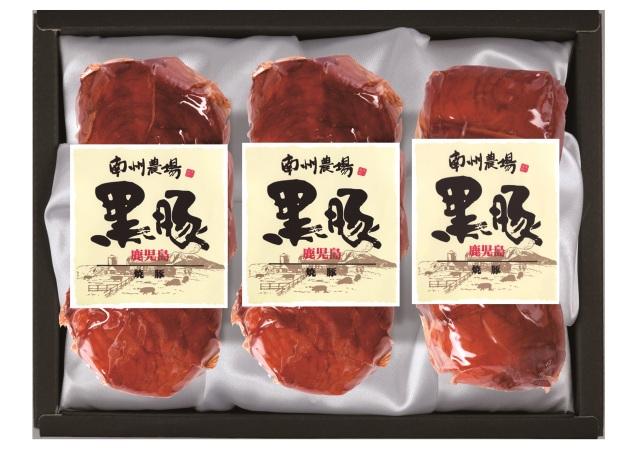 ☆送料無料セール実施中☆ (NY50) 黒豚焼豚(180gx3)