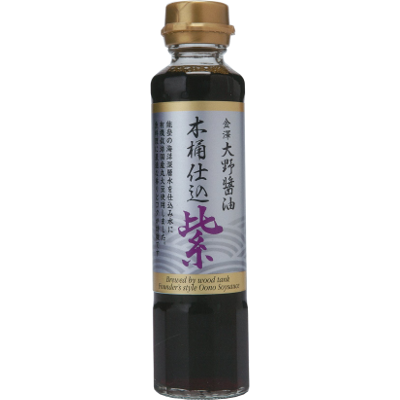 金澤大野醤油木桶仕込紫180ml