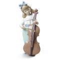 チェロを弾く女の子【02001879】