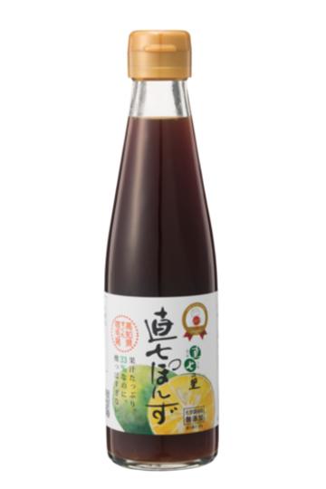 直七果汁たっぷり!まろやかポン酢【直七ポン酢(200ml)】