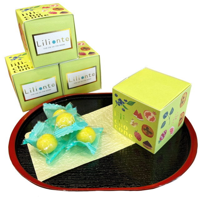 lili-chocone 柚子(奈良県産)