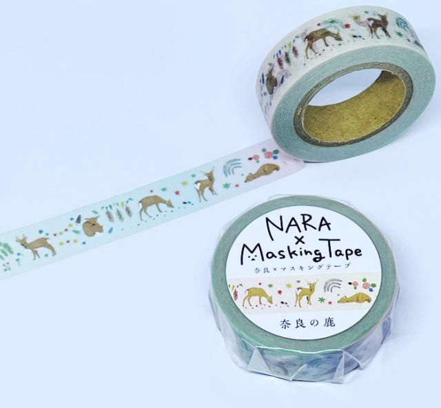 マスキングテープ 奈良の鹿