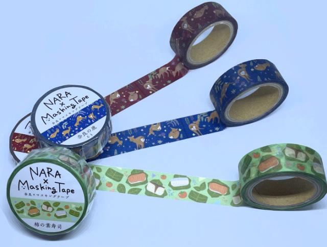 奈良柄マスキングテープ