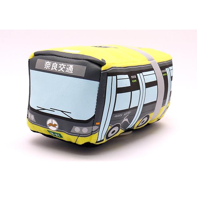 奈良交通 連節バス プルバックぬいぐるみ