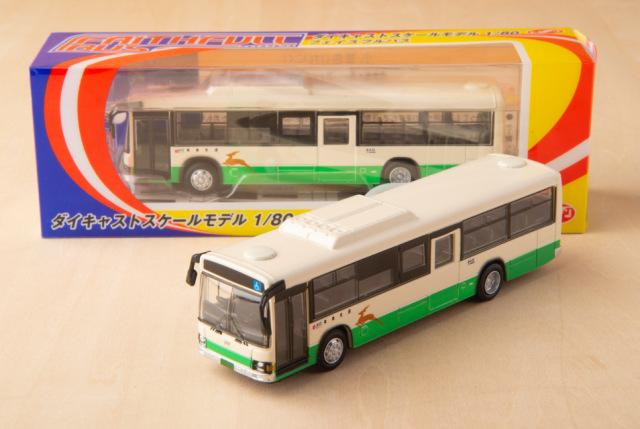 奈良交通フェイスフルバス (ダイキャストスケールモデル1/80【ミニカー】)