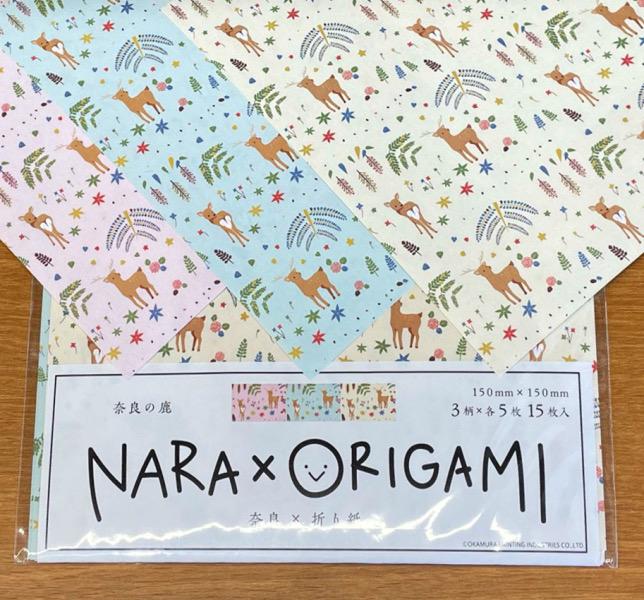 奈良柄 折り紙