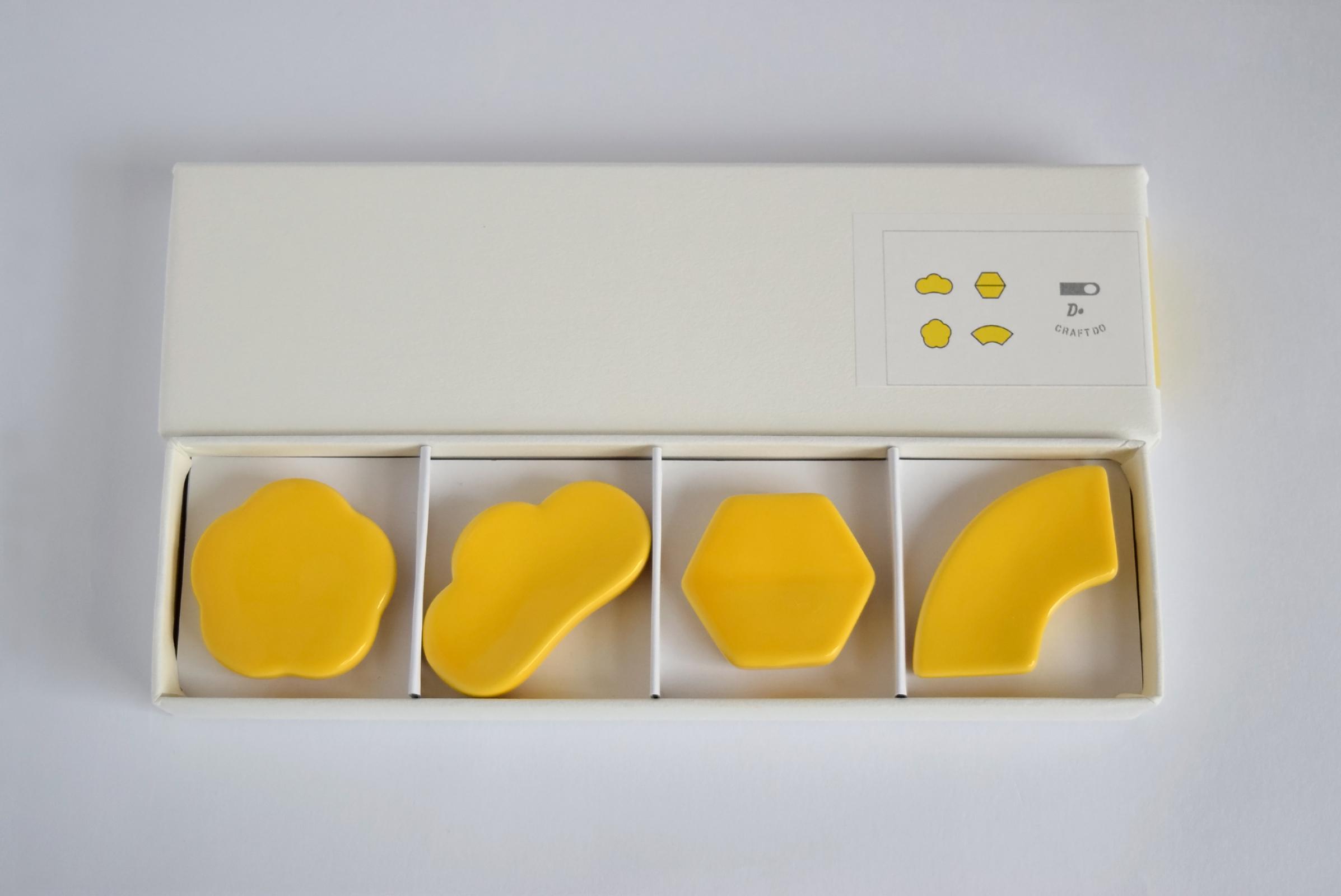 クラスカ[CLASKA] ドーの箸置き 黄