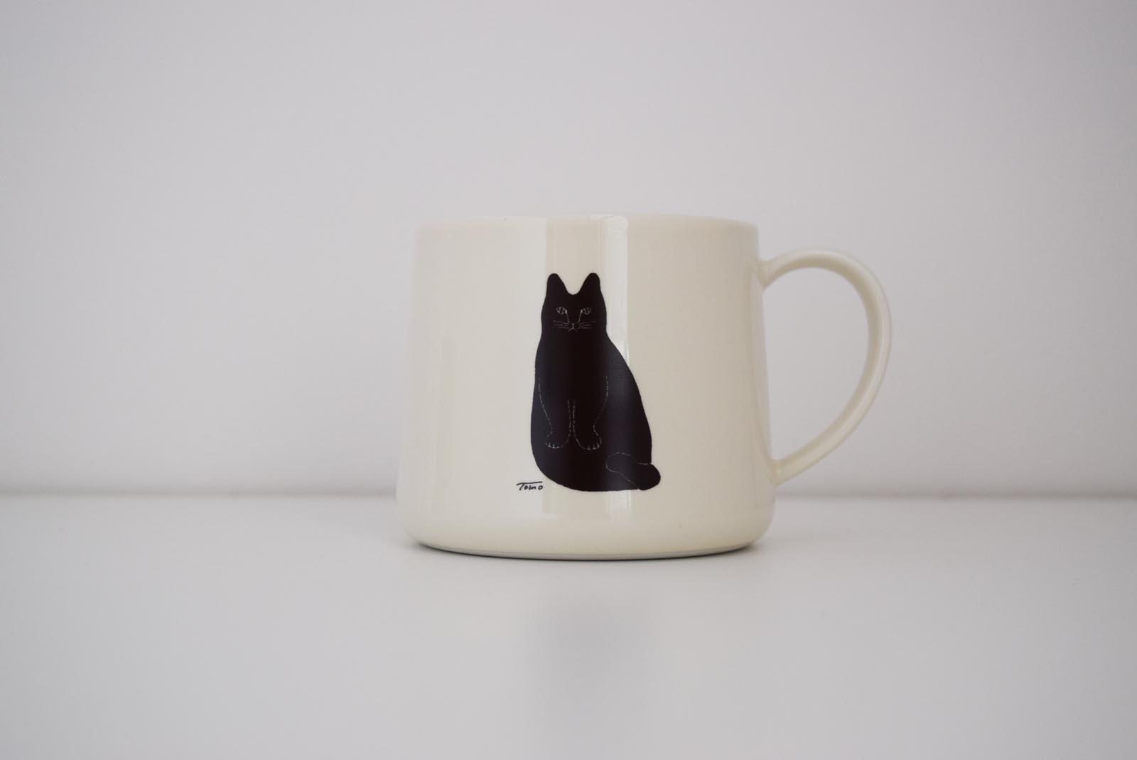 ネコのマグカップ