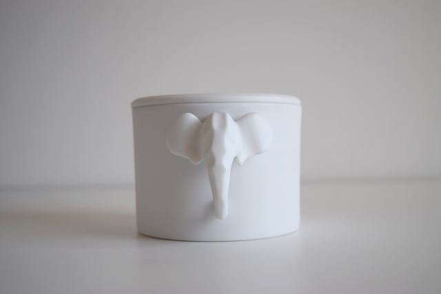 Elephant Multipurpose Cup in Pocelain