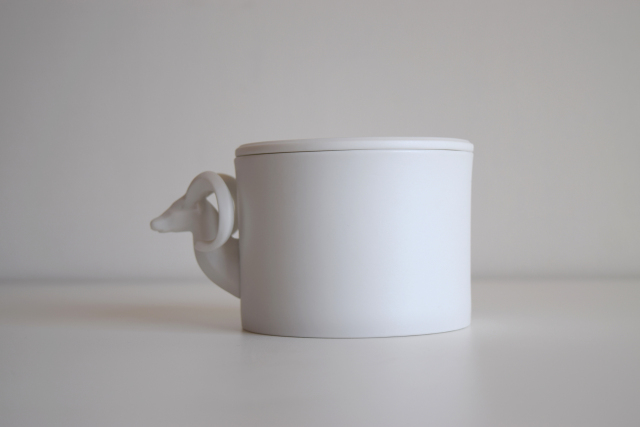 Wild sheep Multipurpose Cup in Pocelain