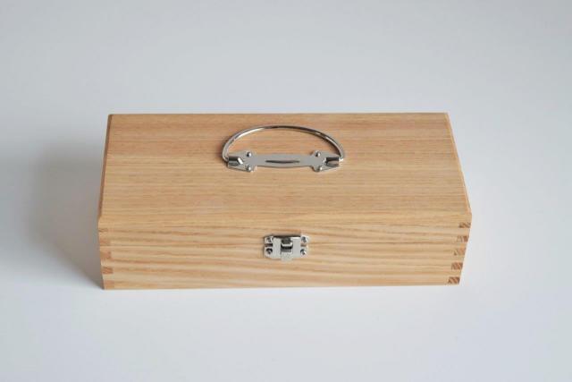 小さな横長道具箱