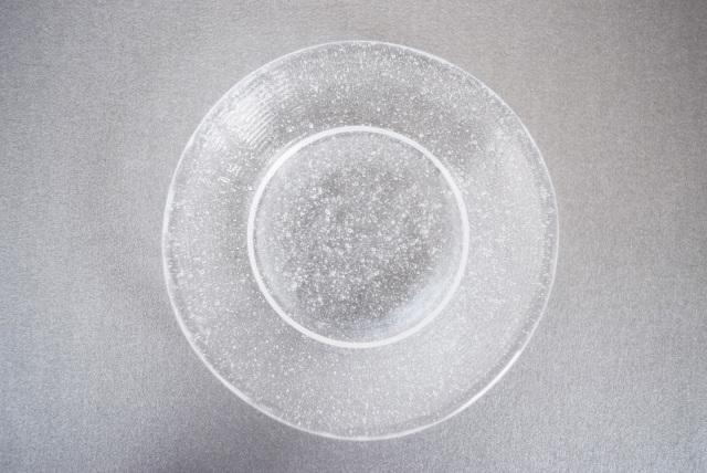 中川政七商店 江戸硝子の豆皿 泡