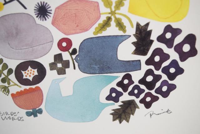 BIRDS'WORDSポスター20cm×20cm