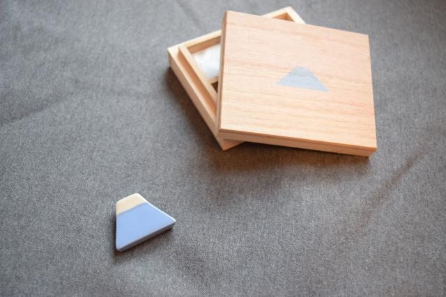 富士山の箸置き