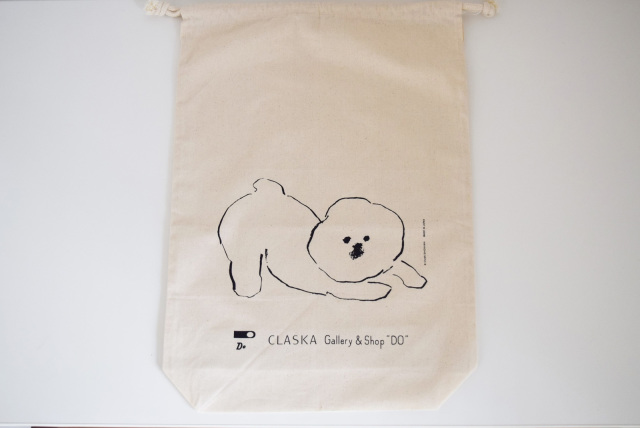 MAMBO コットン巾着 L