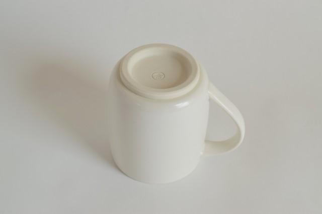 すすむマグカップ 小(白)