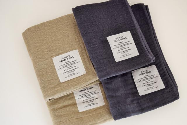 2.5-PLY GAUZE TOWEL(M)(L)