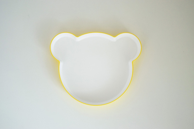 KIDS DISH plate bear