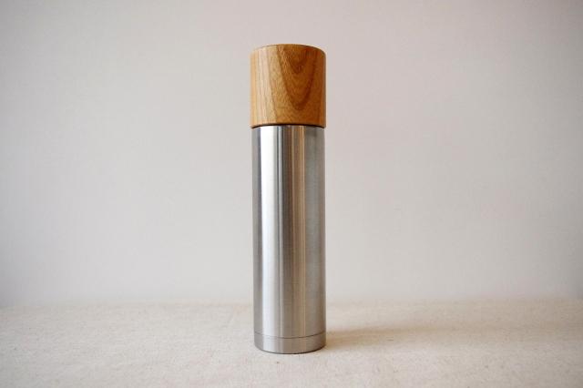 サスギャラリー×モクネジ[SUSgallery×MokuNeji]ボトルM 270mlヘアライン