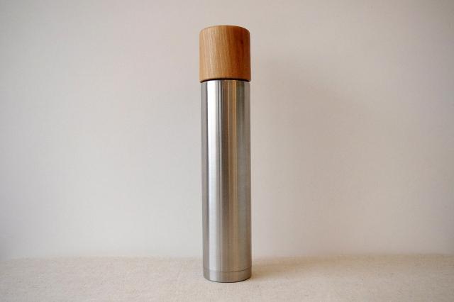 サスギャラリー×モクネジ[SUSgallery×MokuNeji]ボトルL 360mlヘアライン