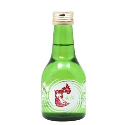 鳴門鯛 本醸造 金松 180ml<レトロ小瓶>