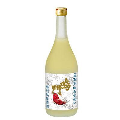 鳴門鯛 長期熟成氷室囲い 特別純米原酒 720ml【蔵直限定】