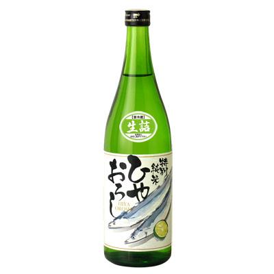 鳴門鯛 特別純米 ひやおろし720ml【秋限定】