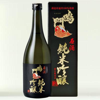 鳴門鯛 純米吟醸原酒 720ml
