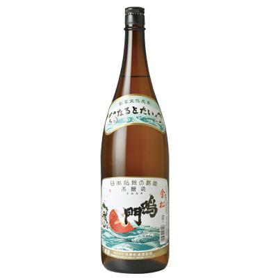 鳴門鯛 本醸造 金松 1800ml