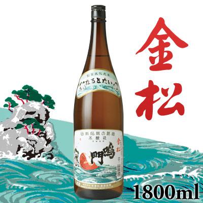 鳴門鯛 本醸造1800ml