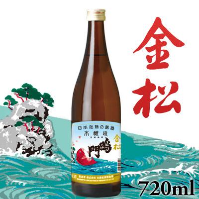 鳴門鯛 本醸造 金松 720ml
