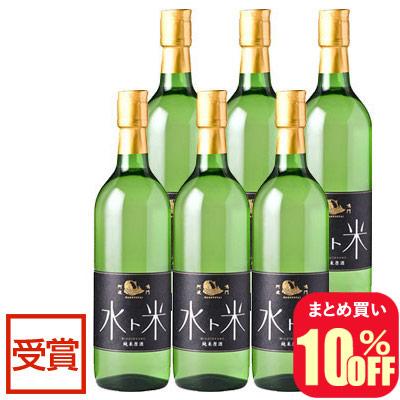 ナルトタイ 純米原酒 水ト米 720ml 6本組