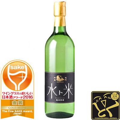 【全米日本酒歓評会受賞】ナルトタイ 純米原酒 水ト米 720ml