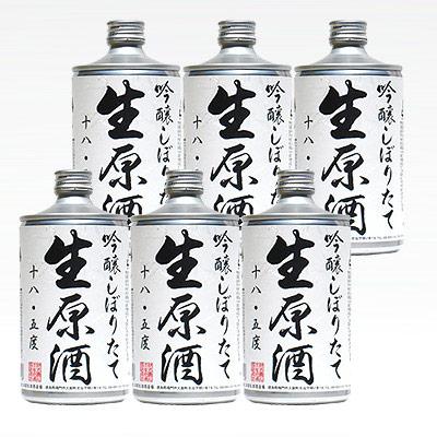 鳴門鯛 吟醸しぼりたて生原酒 720ml(生缶) 6本組