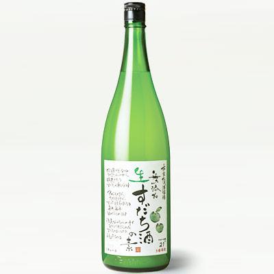 松浦 無添加 生すだち酒の素 1800ml