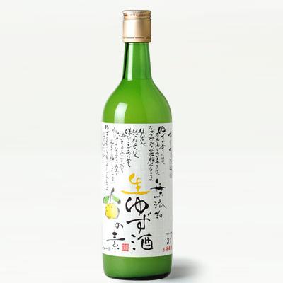 松浦 無添加 生ゆず酒の素 720ml