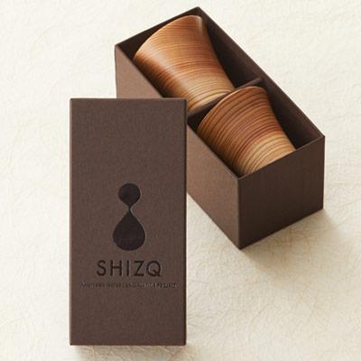 SHIZQ 鶴 ぐい呑み専用 化粧箱