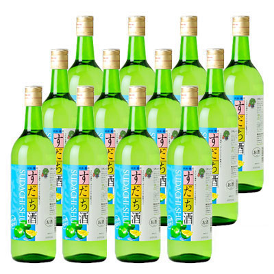 しゅムリエ すだち酒 720ml×12本組