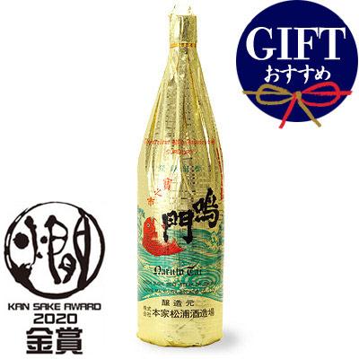 鳴門鯛 吟醸 飛切 1800ml【全国燗酒コンテスト2020 お値打ち熱燗部門 金賞】