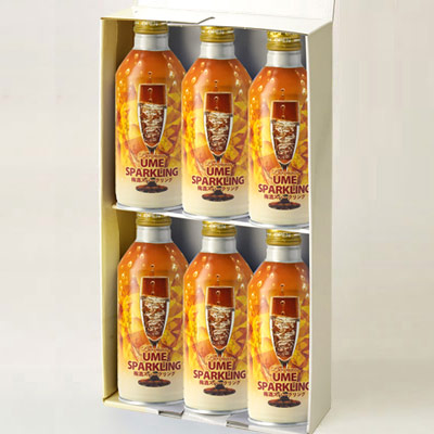 松浦 梅酒スパークリング缶 6本組ギフト