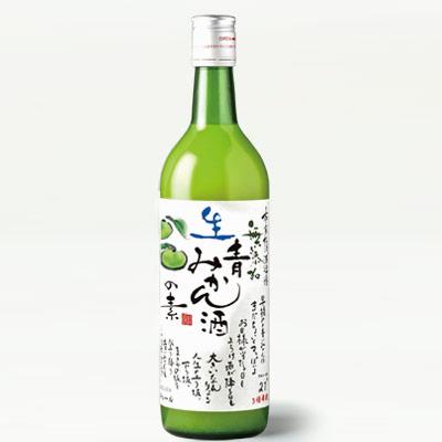 松浦 無添加 生青みかん酒の素720ml