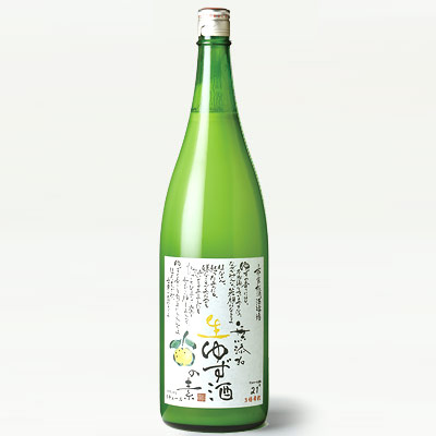 松浦 無添加 生ゆず酒の素 1800ml