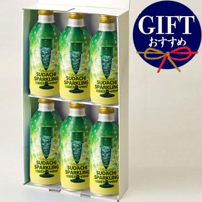 松浦 すだち酒スパークリング缶 6本組ギフト