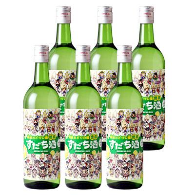 鳴門鯛 すだち酒(阿波キャララベル) 6本組