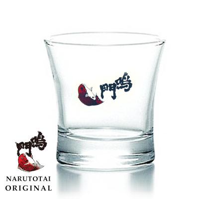 鳴門鯛ロゴ入り ぐい呑みグラス