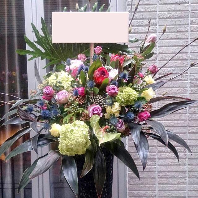 5周年記念お祝いスタンド花 東京