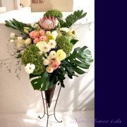 開店祝いスタンド花 東京 おしゃれな花 二子玉川の花屋